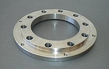 Punched flange